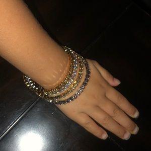 Swarovski Jewelry - June Birthstone Stretch Bracelet